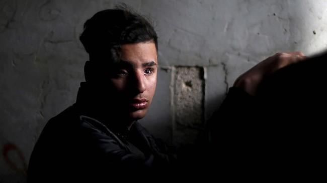 Lembaga tersebut didirikan setelah Organisasi Kesehatan Dunia (WHO) melaporkan bahwa ada 6.872 orang di Jalur Gaza terluka, kebanyakan di bagian kaki. (Reuters/Mohammed Salem)