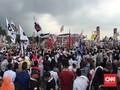 Lagu 'Naik-naik Prabowo-Sandi' Bergema di Tepi Sungai Musi