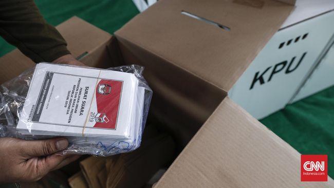 Mengenal Lima Jenis Surat Suara Pemilu 2019