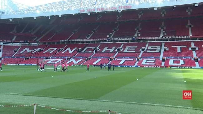 VIDEO: Man United vs Barcelona, Kedua Tim Sama-sama Waspada