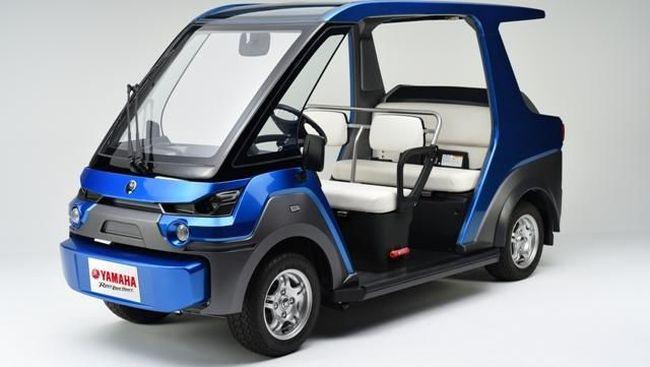 Yamaha Rancang Mobil <i>Fuel Cell</i>