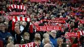 Liverpool punya rekor bagus saat bermain di Anfield musim ini. Atmosfer Anfield ini yang diharapkan kembali jadi kekuatan tambahan The Reds. (Reuters/Carl Recine)