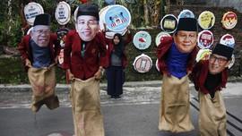 FOTO : Adu Kuat Kampanye Jokowi - Prabowo di Solo
