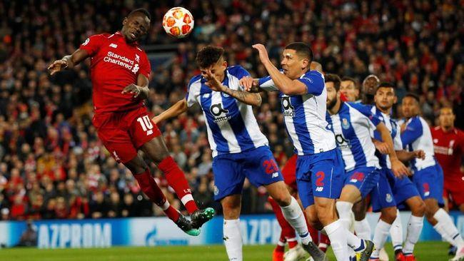 Prediksi Perempat Final Liga Champions FC Porto vs Liverpool
