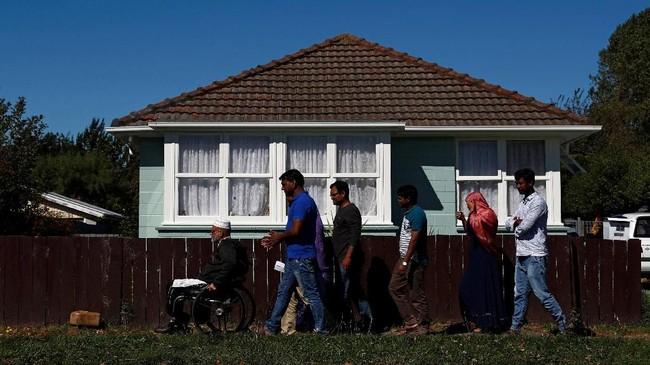 Trauma akibat aksi teror di dua masjid Christchurch, Selandia Baru masih meliputi umat Muslim setempat. (REUTERS/Edgar Su)