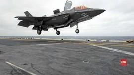VIDEO: Pilot F-35 Yang Jatuh di Pasifik Belum Ditemukan