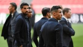 FOTO: Cristiano Ronaldo 'Comeback' Jelang Ajax vs Juventus