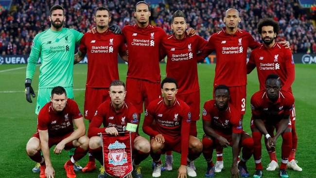 Liverpool menjamu FC Porto dalam leg pertama babak perempat final Liga Champions. (REUTERS/Phil Noble)
