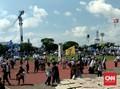 Massa Pendukung Prabowo Mulai Ramaikan Stadion Sriwedari Solo