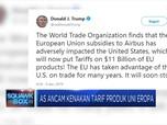 AS Siapkan Tarif USD 11 M untuk Produk Uni Eropa