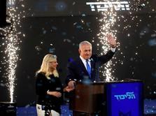 PM Israel Benjamin Netanyahu Kembali Memenangkan Pemilu
