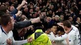 Gol di Liga Champions itu merupakan yang kedua bagi Son ke gawang Man City selama menjadi pemain Tottenham. Satu gol lainnya dicetak pemain asal Korea Selatan ini di Liga Primer Inggris. (Action Images via Reuters/Paul Childs)