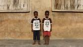 Igbo Ora, salah satu kota kecil di barat daya Nigeria terkenal dengan anak-anaknya yang terlahir kembar. (REUTERS/Afolabi Sotunde)