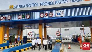 Resmikan Tol Pasuruan-Probolinggo, Jokowi Ingin Ekonomi Laju