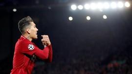 FOTO: Firmino Bintang Liverpool Hajar Porto di Liga Champions