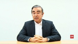 VIDEO: Carlos Ghosn Sebut 'Ditikam dari Belakang' oleh Nissan