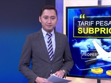 Tarif Pesawat Tak Turun, Subprice Menanti