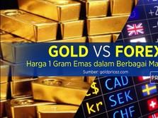 Harga 1 Gram Emas Dalam Berbagai Mata Uang Dunia