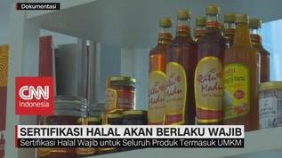 VIDEO: Sertifikasi Halal Berlaku Wajib Bagi Seluruh Produk