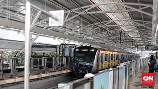 Pelantikan Jokowi-Ma'ruf, Stasiun MRT Benhil Ditutup