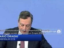 ECB Tahan Suku Bunga Acuan Eropa