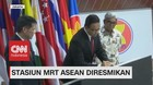 VIDEO: Gubernur Anies Resmikan MRT Asean
