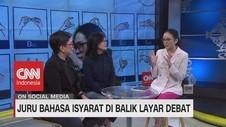 VIDEO: Juru Bahasa Isyarat di Balik Layar Debat (2/2)