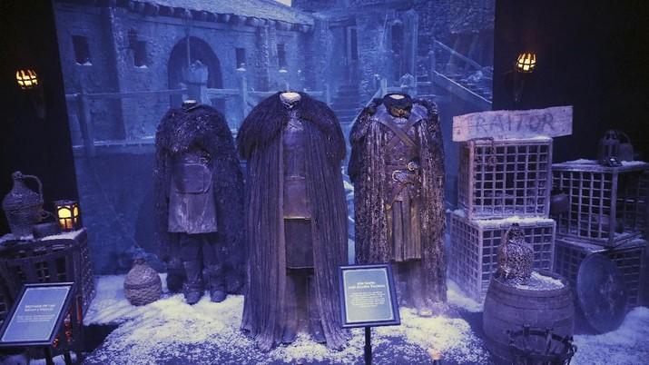Intip Kemewahan Kostum Pemeran Serial Game Of Thrones