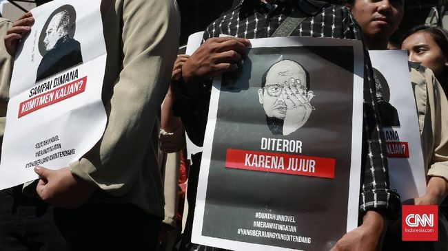 TGPF Laporkan Perkembangan Kasus Novel ke Pimpinan KPK