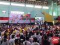 Massa Padati Kampanye Jokowi di 'Kandang Prabowo' Sukabumi