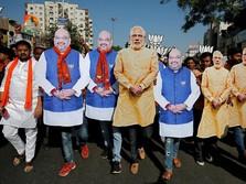 Kasus Corona India Tembus 20 Juta, PM Modi Mau Lockdown?