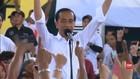 VIDEO: Jokowi Targetkan Perolehan Suara 50 Persen di Sukabumi