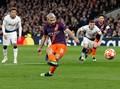Sergio Aguero Tak Lagi Tajam Lawan Tottenham