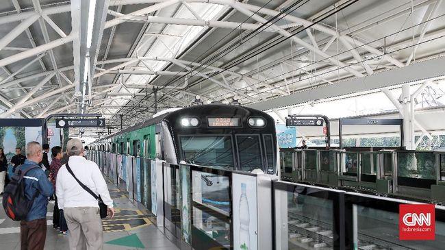 Penumpang MRT Bisa Bayar Pakai QR Code Akhir Oktober