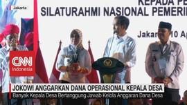 VIDEO: Jokowi Anggarkan Dana Operasional Kepala Desa