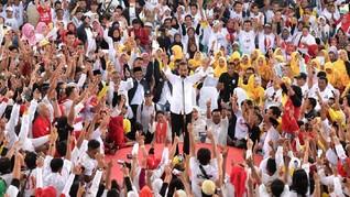 Di Sukabumi, Jokowi Janjikan Bandara dan Tol Bocimi