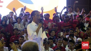 Jokowi Ajak Masyarakat 'Jepret' Penghitungan Suara di TPS