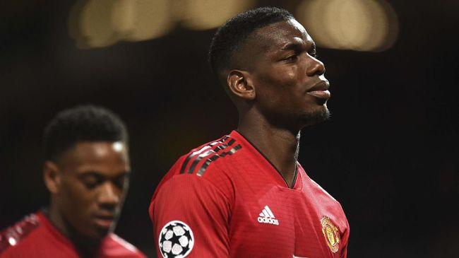Pogba Disarankan Bertahan di Manchester United