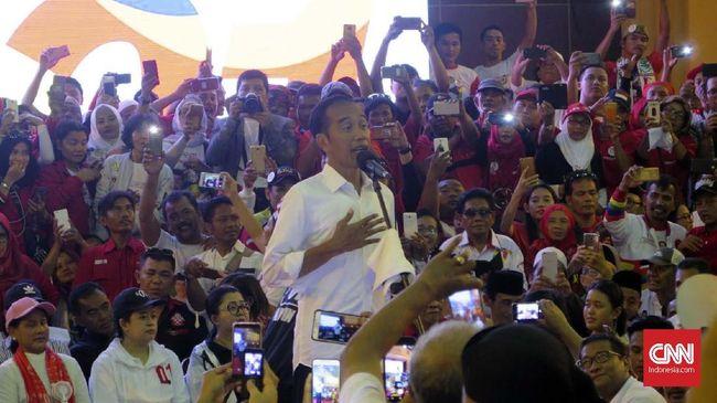 Jokowi soal Gambar Tercoblos di Malaysia: Laporkan ke Bawaslu