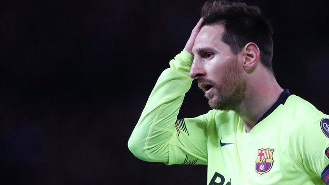 Messi Payah di Hadapan Setan Merah