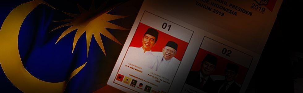 Jokowi 'Tercoblos' di Malaysia