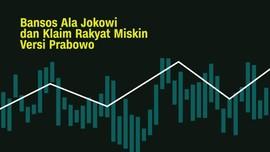 INFOGRAFIS: Bansos Jokowi dan Klaim Rakyat Miskin Prabowo