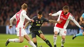 Juventus Superior Lawan Ajax di Kandang Sendiri