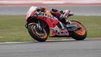 Jatuh di MotoGP Amerika Serikat, Marc Marquez Bingung