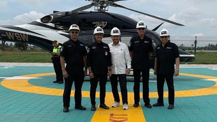 Helikopter Anda Kini Bisa Mendarat di Bandara Soetta!