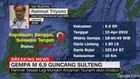 VIDEO: Ancaman Tsunami Sulteng Dinyatakan Berakhir