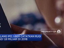 Jelang IPO, Uber Merugi USD 1,8 M