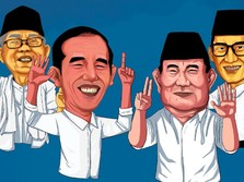 Jokowi-Ma'ruf Vs Prabowo-Sandiaga, Siapa Paling Tajir?