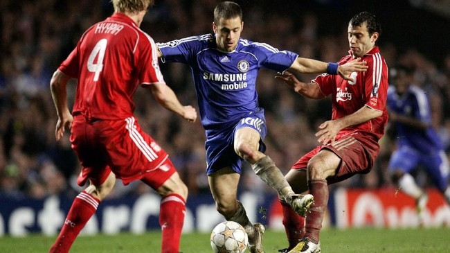 Joe Cole bermain untuk Chelsea selama tujuh musim sejak 2003 sebelum pindah ke Liverpool pada 2010. Cole bermain dalam 280 laga di Chelsea dengan meraih3 trofi Liga Primer Inggris, 3 Piala FA, dan 2 Piala Liga.(Action Images / John Sibley)