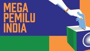 INFOGRAFIS: Mega Pemilu India 2019